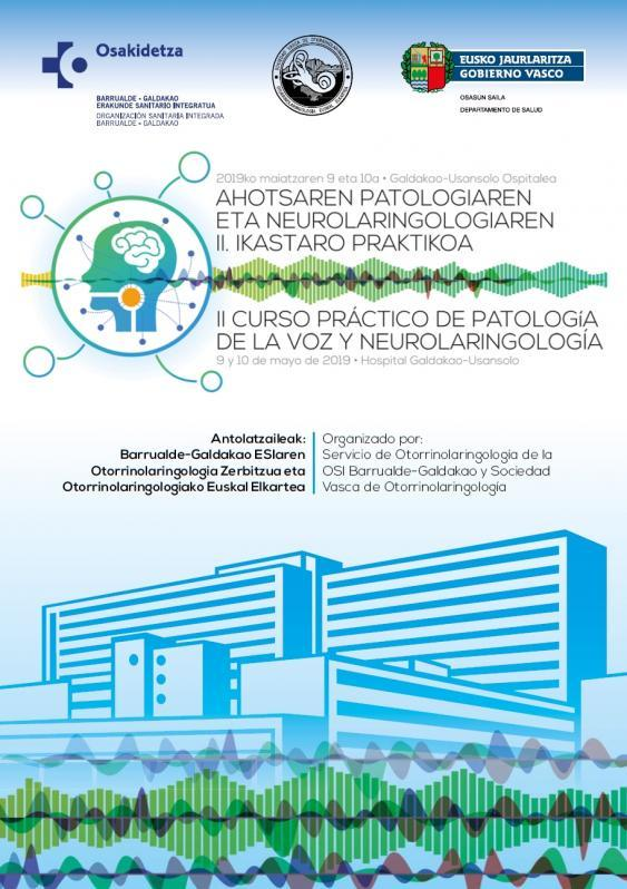 II Curso Práctico de Patología de la Voz y Neurolaringología