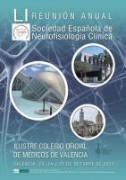 LI Reunión Anual de la Sociedad Española de Neurofisiología Clínica