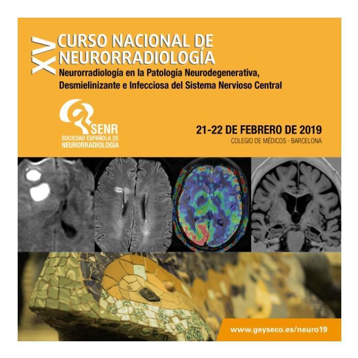 XV Curso Nacional de Neurorradiología