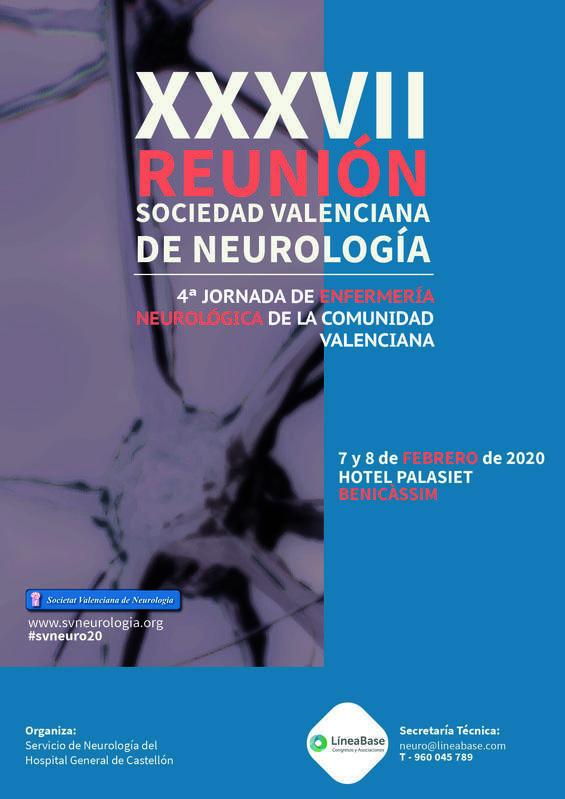 XXXVII Reunión de la Sociedad Valenciana de Neurología